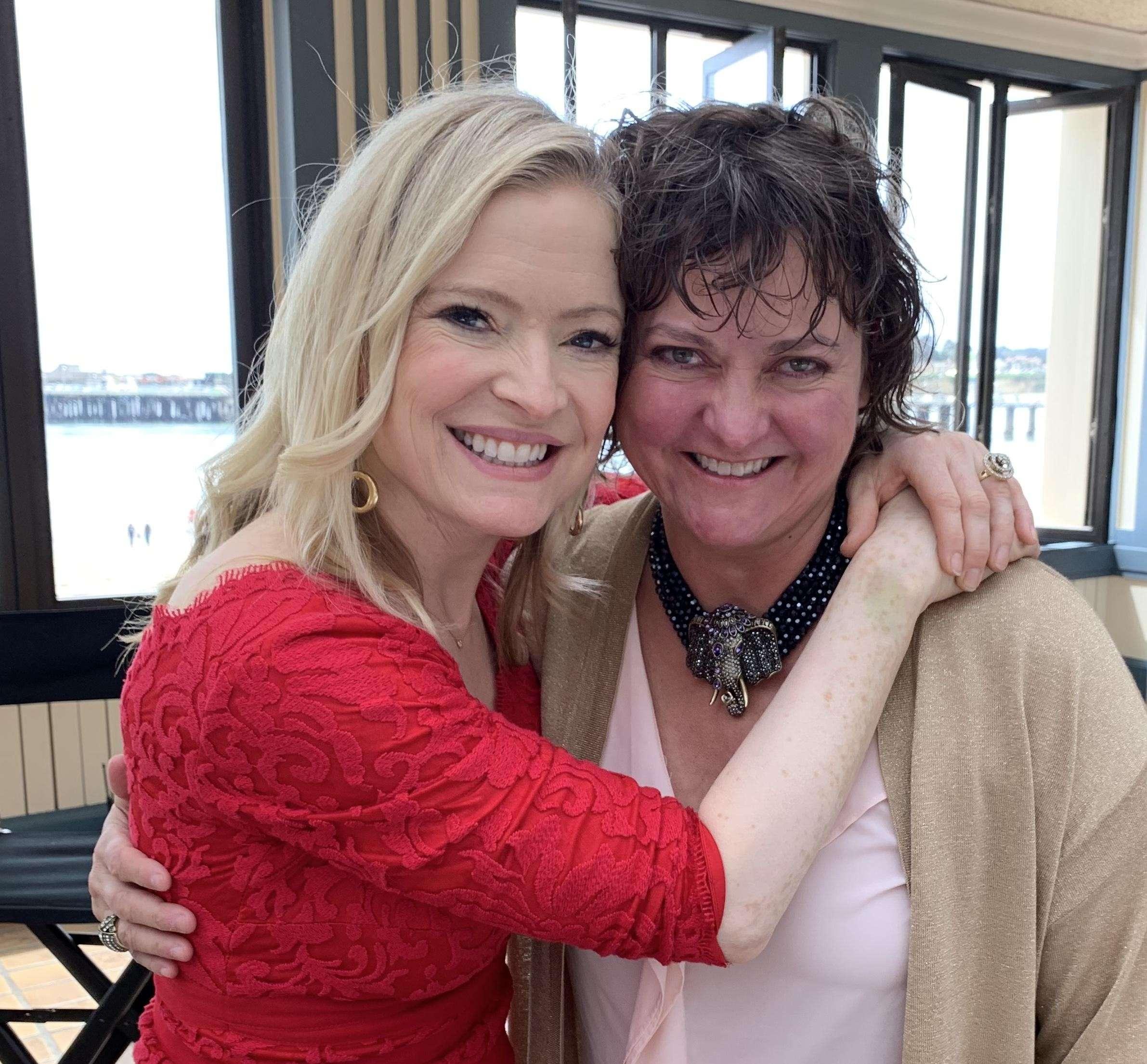 With Rikka Zimmerman